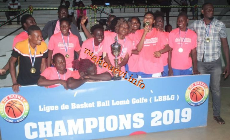 Basketball : Dyto et Swallows champions Lomé Golfe !