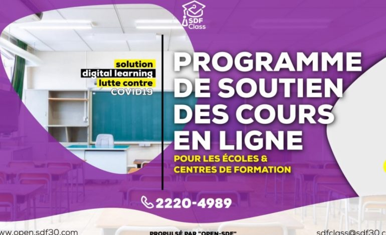Technologie / Togo : Open-SDF propose une solution de e-learning
